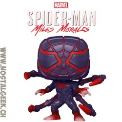 Funko Pop! Marvel Gameverse Spider-Man Miles Morales (Programmable Matter Suit)