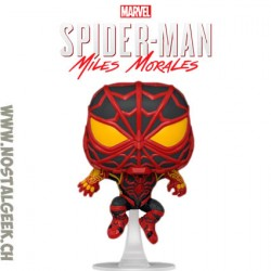 Funko Pop! Marvel Gameverse Spider-Man Miles Morales (S.T.R.I.K.E. Suit)