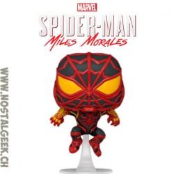 Funko Pop! Marvel Gameverse Spider-Man Miles Morales (S.T.R.I.K.E. Suit) Vinyl Figure