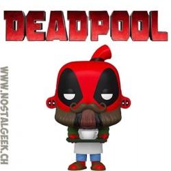 Funko Pop Marvel Barista Deadpool Vinyl Figure