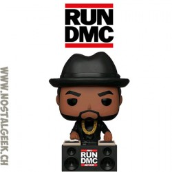 Funko Pop Rocks Run DMC Jam Master Jay (JMJ 4EVER) Vinyl Figure
