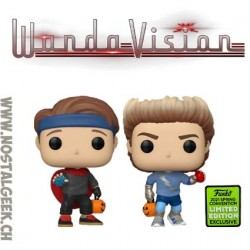 Funko Pop ECCC 2021 Marvel Wandavision Billy And Tommy Halloween (2-Pack) Exclusive Vinyl Figures