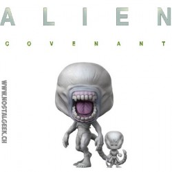 Funko Pop! Movies Alien Covenant Neomorph with Toddler
