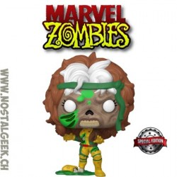 Funko Pop Marvel Zombie Rogue Edition Limitée