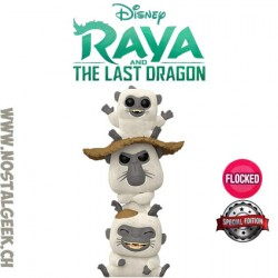 Funko Pop Disney Raya The Last Dragon Ongis Flocked Edition Limitée