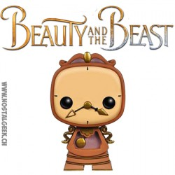 Funko Pop! Beauty and the Beast Cogsworth Figure Vinyl