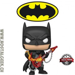 Funko Pop DC Heroes Death Metal Batman (Guitar Solo) Edition Limitée