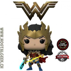 Funko Pop DC Heroes Death Metal Wonder Woman Chase Phosphorescent Edition Limitée