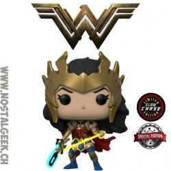 Funko Pop DC Heroes Death Metal Wonder Woman Chase GITD Exclusive Vinyl Figure