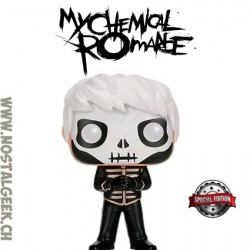 Funko Pop Rocks My Chemical Romance Skeleton Gerard Way (Black Parade) Edition Limitée