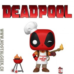 Funko Pop Marvel Backyard Griller Deadpool Vinyl Figure