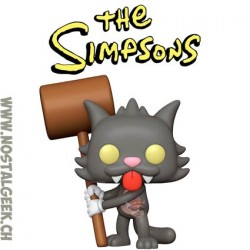 Funko Pop Cartoons The Simpsons Scratchy Vinyl Figure