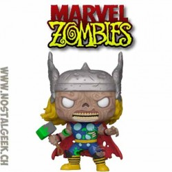 Funko Pop Marvel Zombie Red Hulk Vinyl Figure