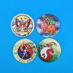 Set of 4 second hand Pogs (Loose)