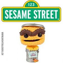 Funko Pop! TV Sesame Street Orange Oscar The Grouch Exclusive Vinyl Figure
