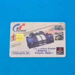 Gran Turismo pre owned Phone card (Loose)