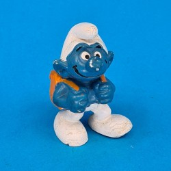 The Smurfs with backpack second hand Figure (Loose)
