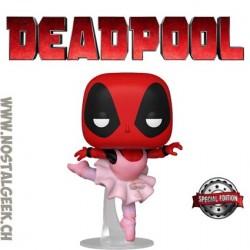 Funko Pop Marvel Ballerina Deadpool Exclusive Vinyl Figure