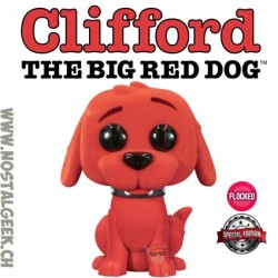 Funko Pop Books Clifford The Big Red Dog Flocked Exclusive Vinyl Figure