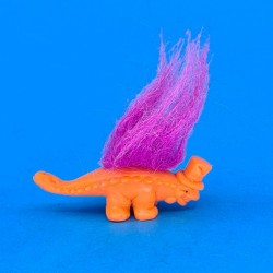 The Troll orange dinosaur with hat second hand figure (Loose)