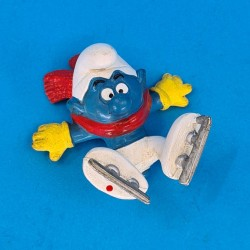 The Smurfs ice skater second hand Figure (Loose)