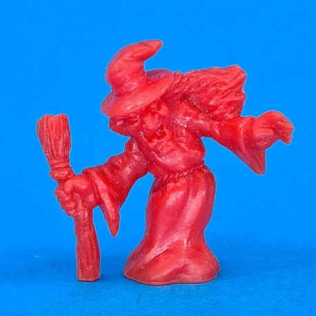 Monster in My Pocket - Matchbox - Series 1 - No 44 Witch (Red) second hand figure (Loose)