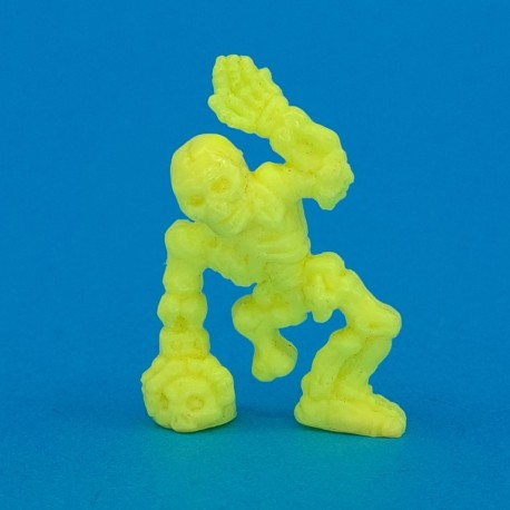 Monster in My Pocket - Matchbox No 47 Skeleton (Yellow) second hand figure (Loose)