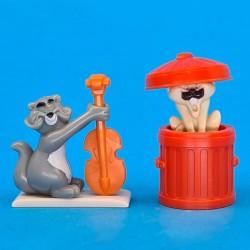 Disney The Aristocats Shun Gon et Billy Boss second hand Figures (Loose)