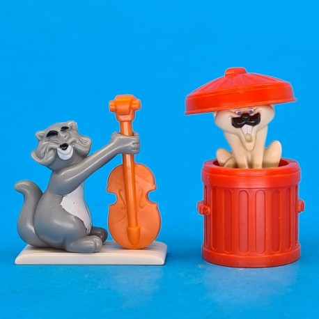 Disney The Aristocats Shun Gon et Billy Boss second hand Figures (Loose)