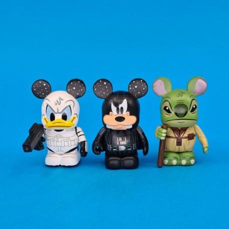 Disney Vinylmation Star Wars set of 3 second hand figures (Loose)