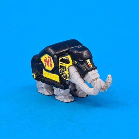 Power Rangers Thunderzord White mammoth Micro second hand action figure (Loose)