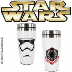 Star Wars 7 The Force Awakens - Stormtrooper Travel Mug