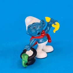 The Smurfs Magician Smurf second hand Figure (Loose)