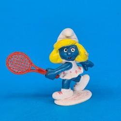 The Smurfs Smurfette Tennis second hand Figure (Loose)