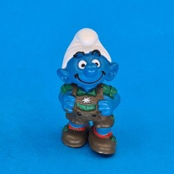 The Smurfs Tyrolean Smurf second hand Figure (Loose)