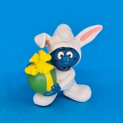 The Smurfs Easter Rabbit Smurf second hand Figure (Loose)