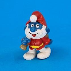 The Smurfs Santa Papa Smurf second hand Figure (Loose)