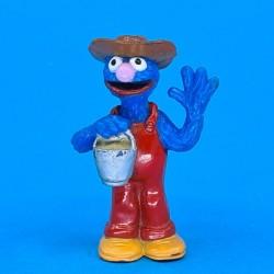 Sesame Street Farmer Grover second hand figure (Loose)