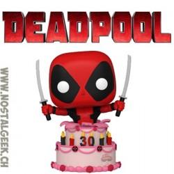 Funko Pop Marvel Deadpool In Cake Vinyl Figure