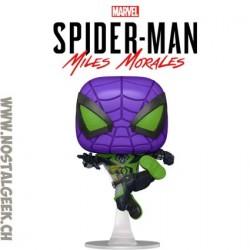Funko Pop! Marvel Gameverse Spider-Man Miles Morales (Purple Reign Suit) Vinyl Figure