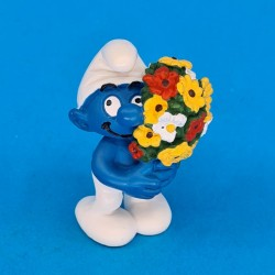 The Smurfs Flowers second hand Figure (Loose) Schleich