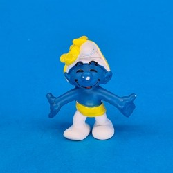 The Smurfs - Smurf gift ribbon second hand Figure (Loose)