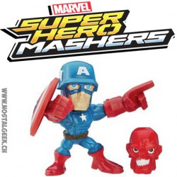 Marvel Super Hero Mashers Micro Captain America Figure