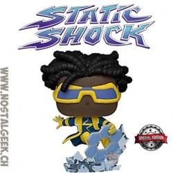 Funko Pop DC Heroes Static Shock Exclusive Vinyl Figure
