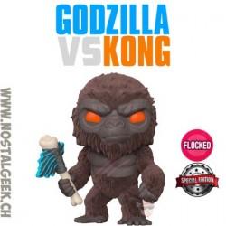 Funko Pop Movies Godzilla Vs Kong Kong with Battle Axe Flocked Exclusive Vinyl Figure