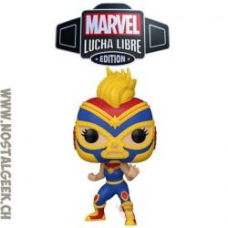 Funko Pop Marvel Lucha Libre La Estrella Cosmica (Captain Marvel) Vinyl Figure