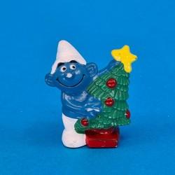 The Smurfs Christmas tree second hand Figure (Loose)