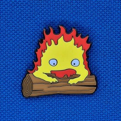 Howl's Moving Castle Calcifer second hand Pin (Loose)