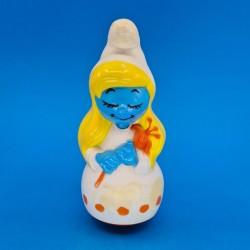 The Smurfs Smurfette second hand culbuto figure (Loose)