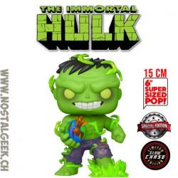 Funko Pop 15 cm Marvel Immortal Hulk Phosphorescent Chase Edition Limitée